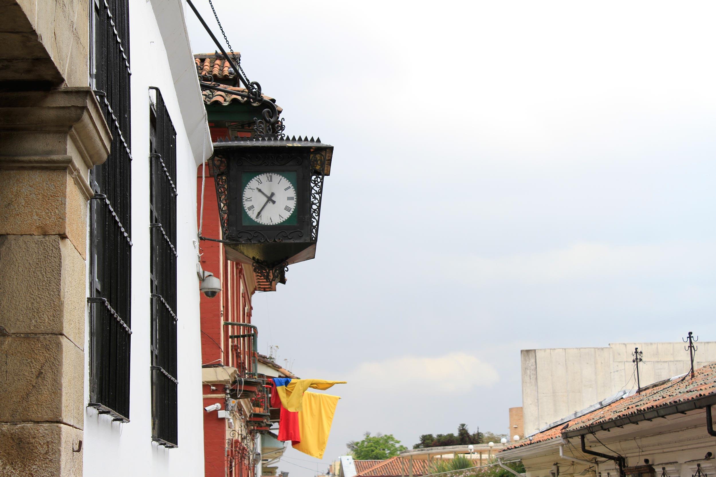 Candelaria reloj