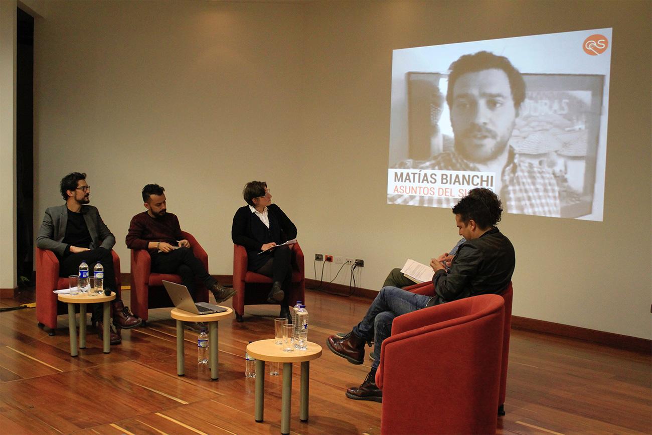 Al comenzar el evento se proyectaron varios videos de expertos que trabajan en el tema digital en Latinoamérica.