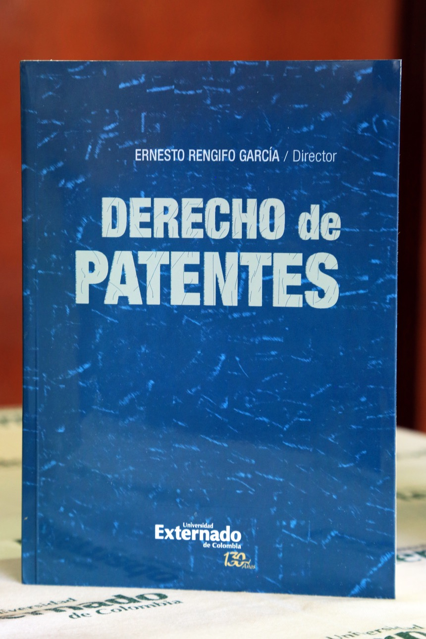 El libro 'Derecho de Patentes', de 27 capítulos.