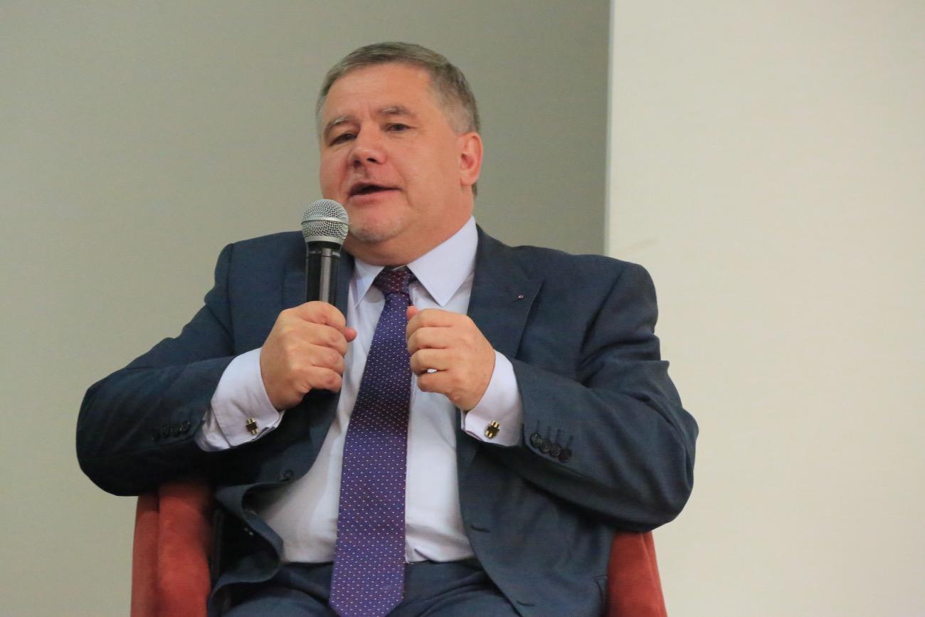 Miloš Sklenka, embajador de Republica Checa en Colombia.