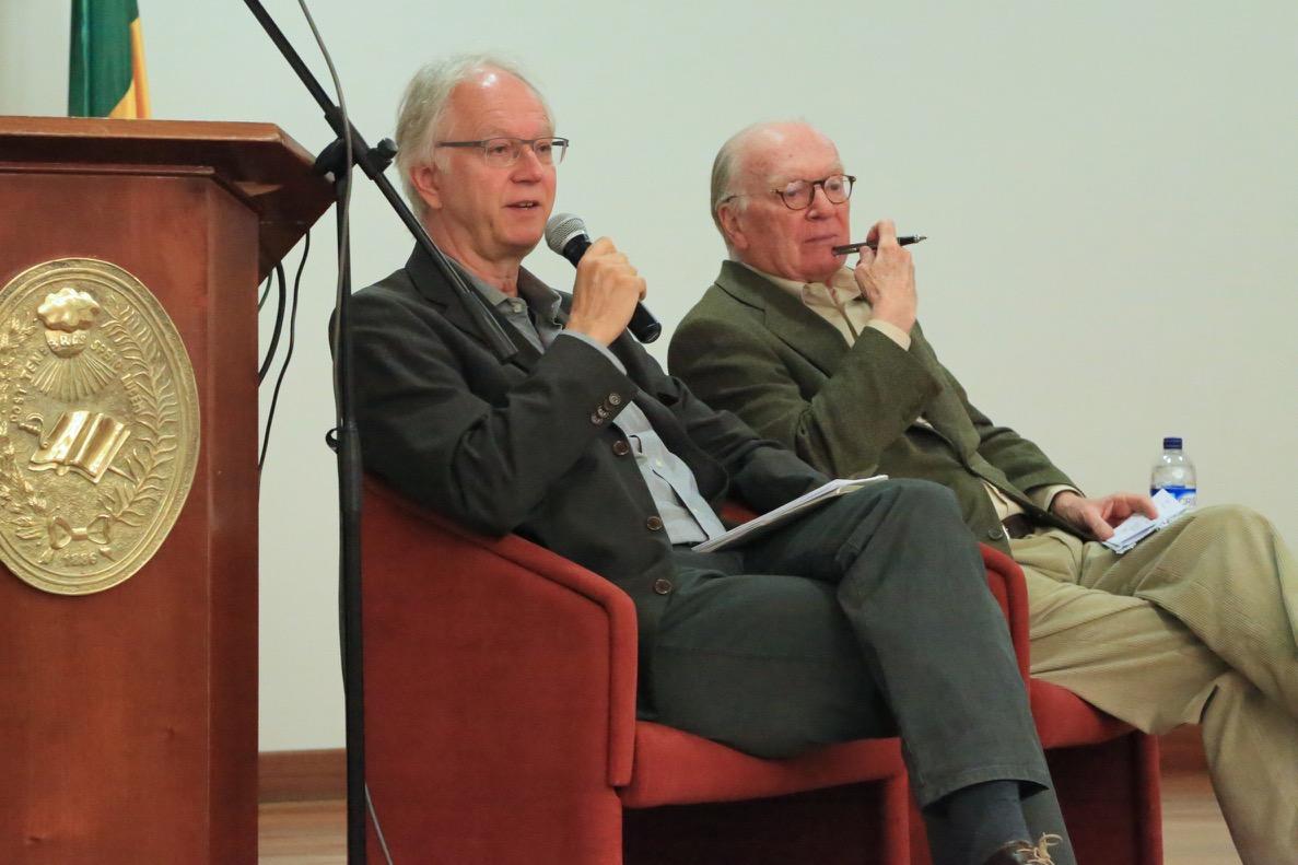 Lothar Witte y Nicolás Sartorius.