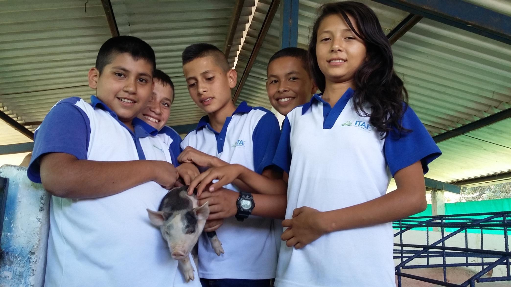 ITAF El Tambo 3. Cortesía: Fundación Smurfit Kappa Colombia.
