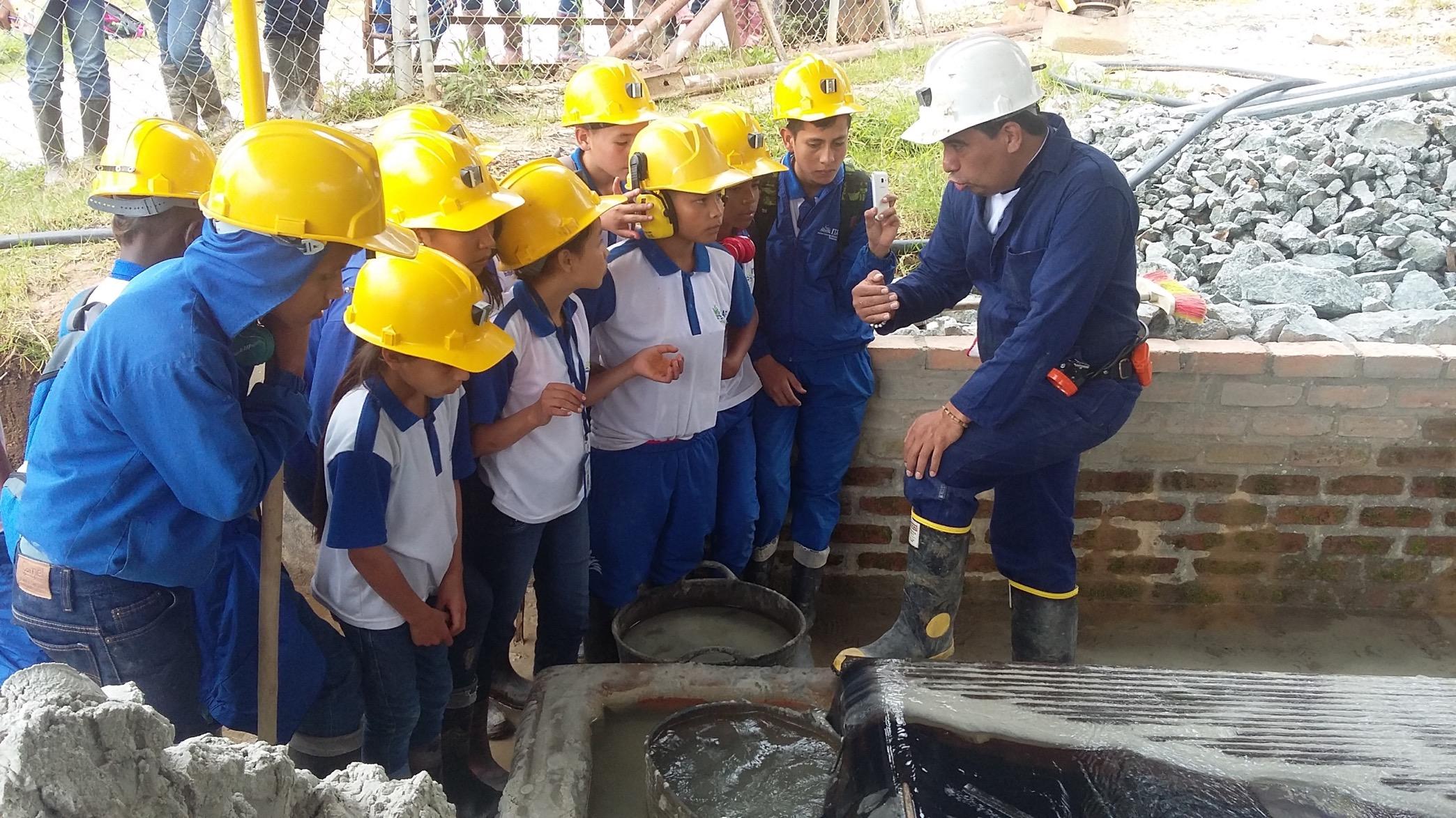 ITAF - Salida de estudio Cooperativa de Mineros. Cortesía: Fundación Smurfit Kappa Colombia.