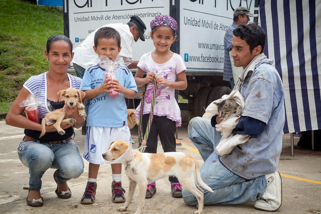 20 de Julio Jornada de Salud La Viña Día 2. Cortesía: Celsia.