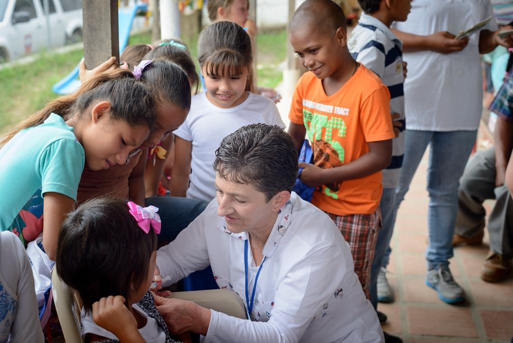 Jornada de Vacunación El Caney. Cortesía: Celsia.