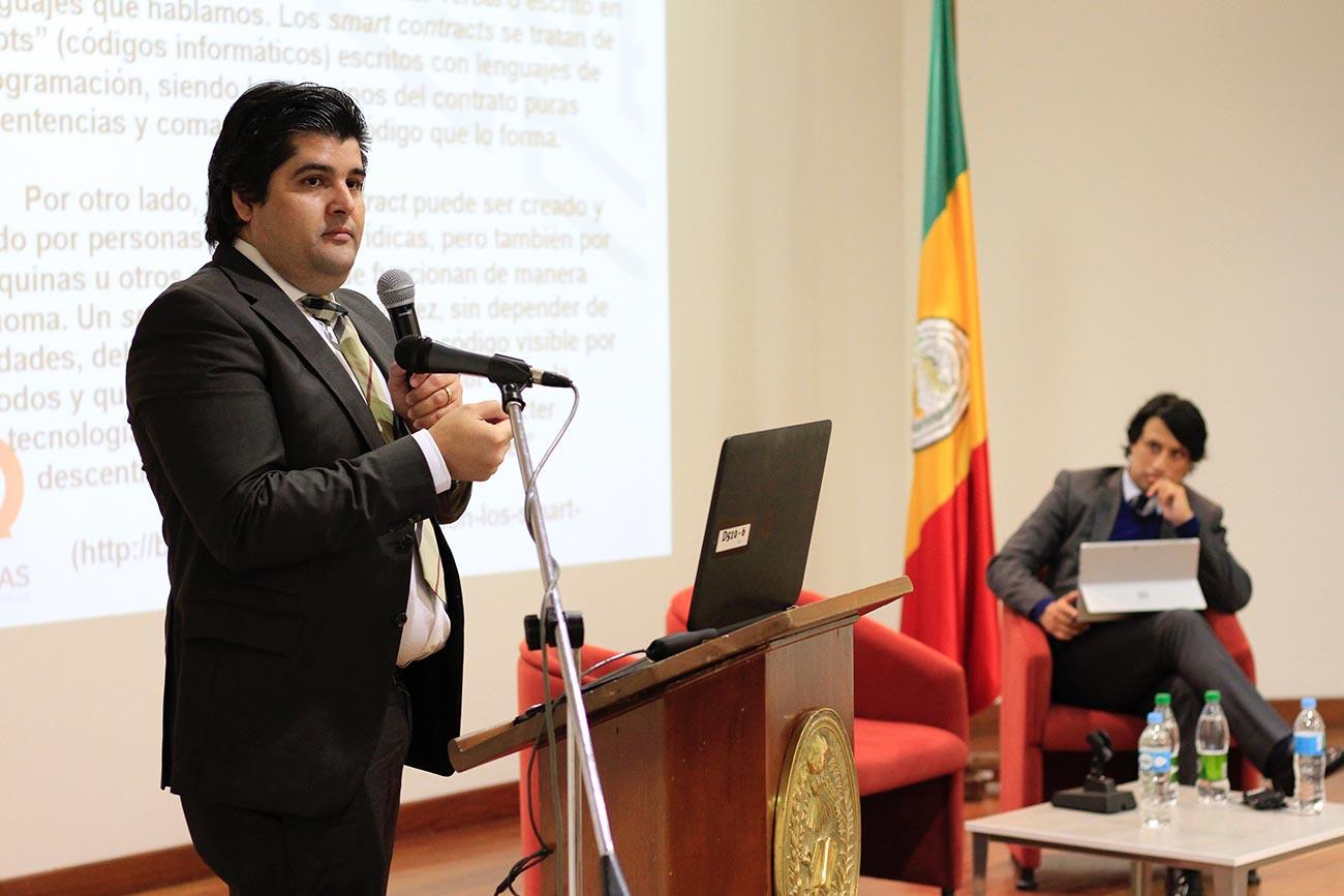 El Departamento de Derecho Civil, de la Universidad Externado, organizó una charla en la que se respondieron interrogantes sobre los contratos inteligentes y el blockchain.