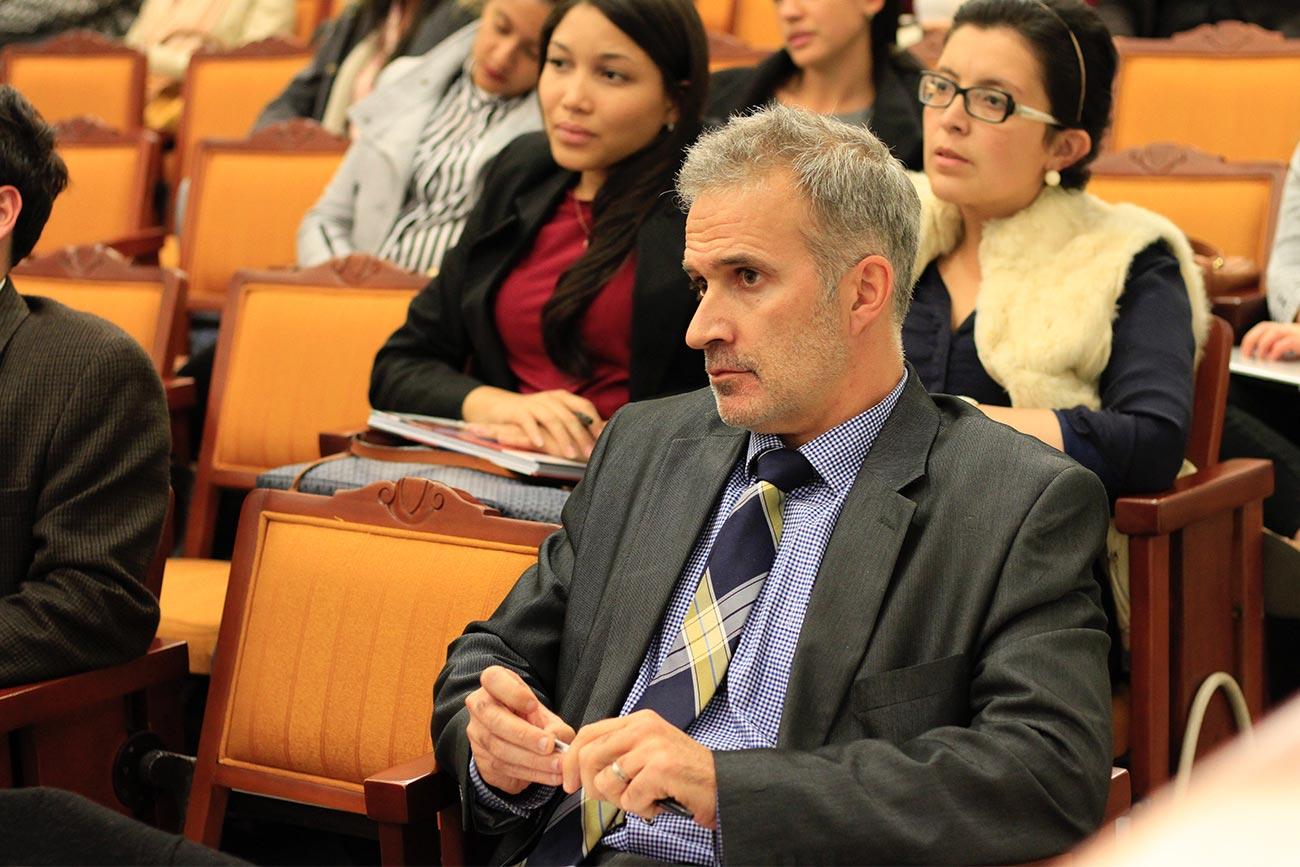 El evento contó con la presencia del director del CIPE, Frederic Masse.
