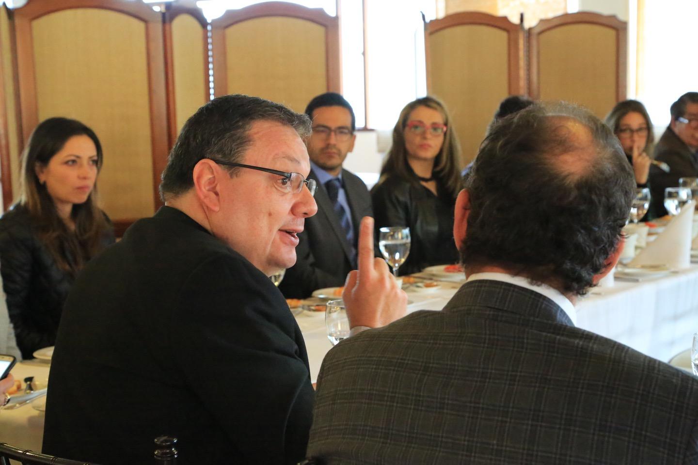 El Rector del Externado, Juan Carlos Henao, resaltó que la Universidad siempre ha tenido un compromiso con el barrio Egipto.