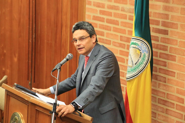 Jairo Rivera, docente de la Universidad Externado de Colombia.