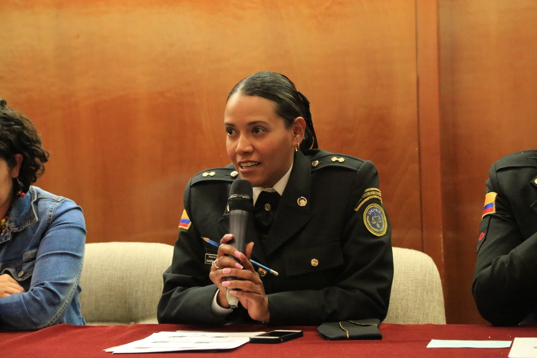 Sandra Calderón. INPEC