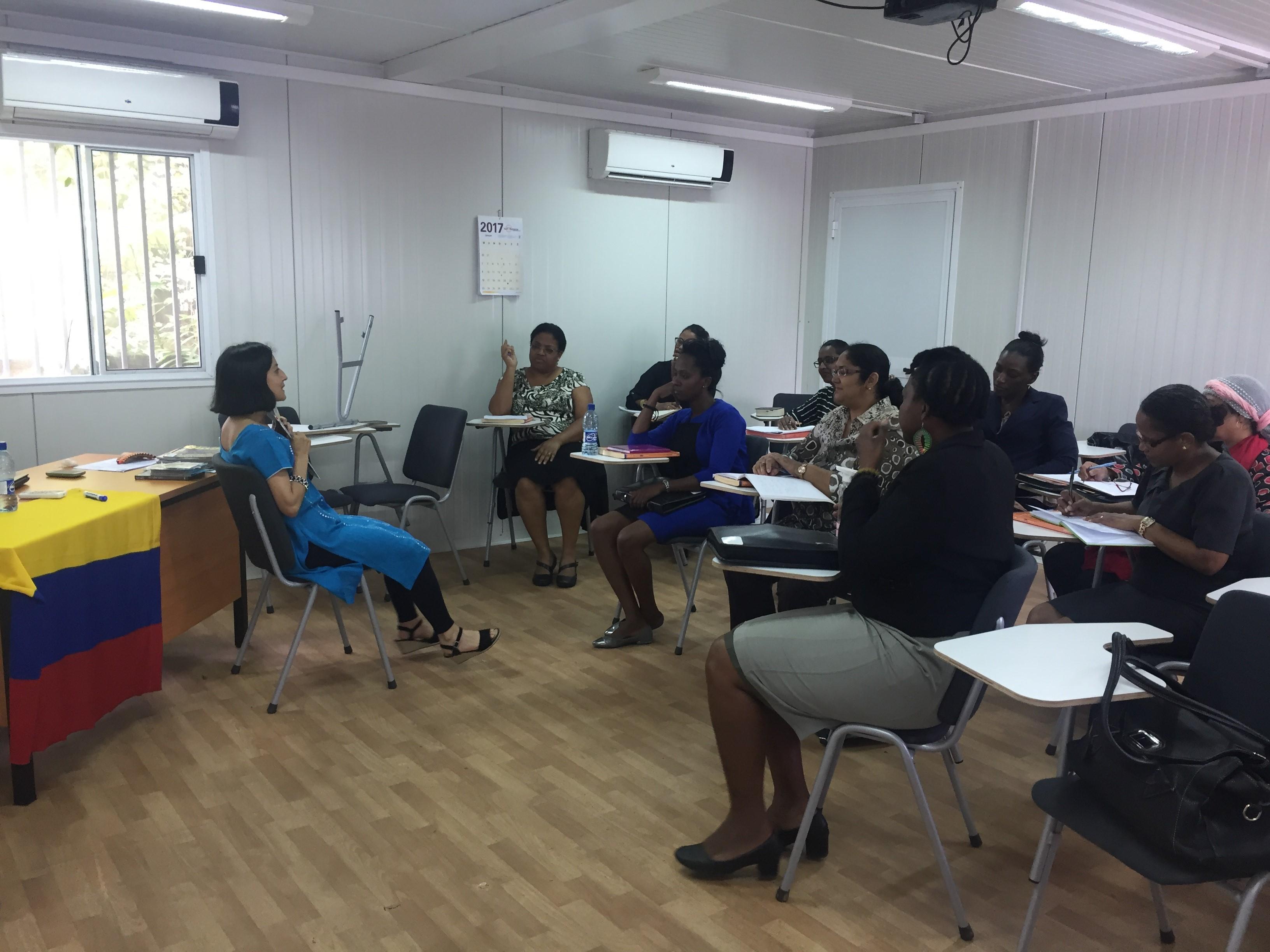 clases cepex en Surinam