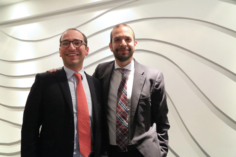 Héctor Santaella y Julián Pimiento