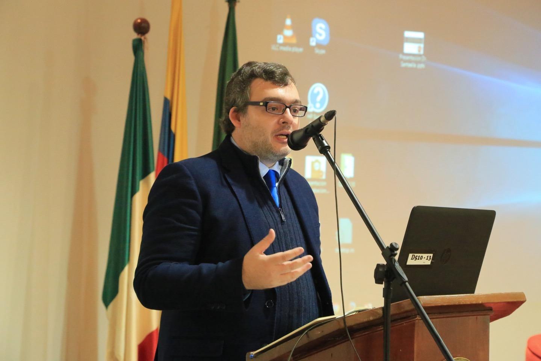 Marcos Almeida, profesor de la Universidad Santiago de Compostela, España