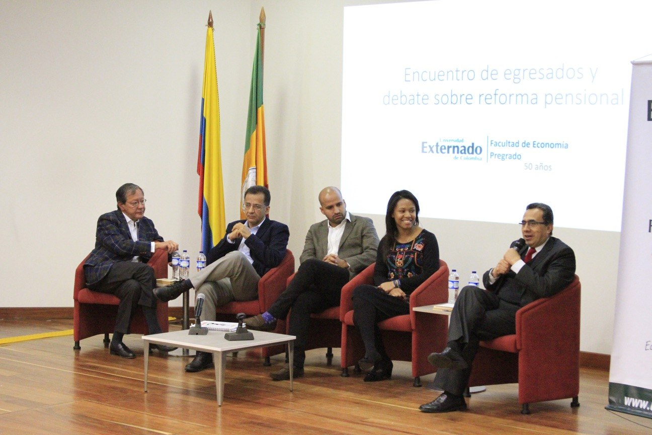 Debate sobre Reforma pensional en Colombia