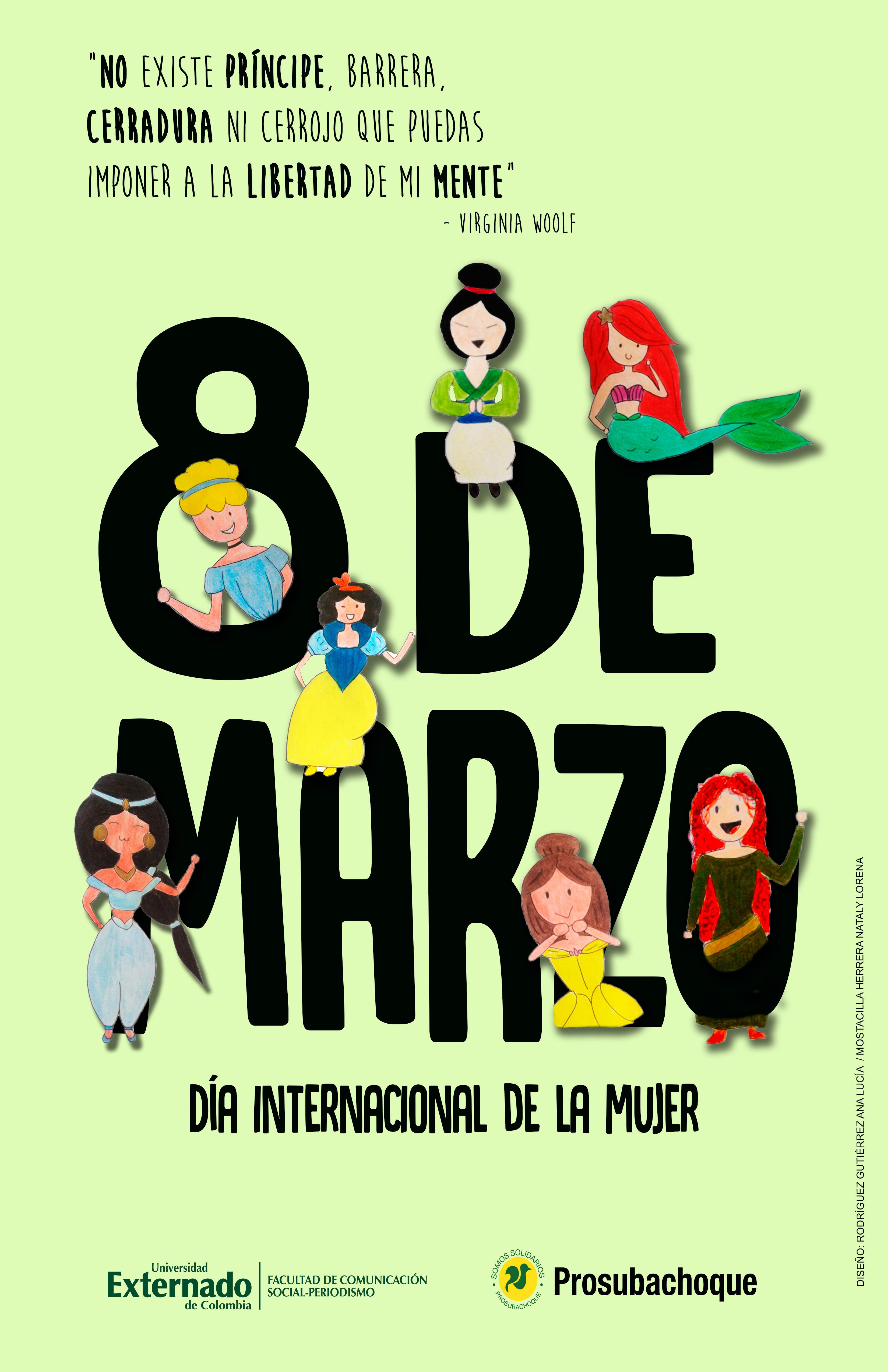 Afiche Día de la Mujer