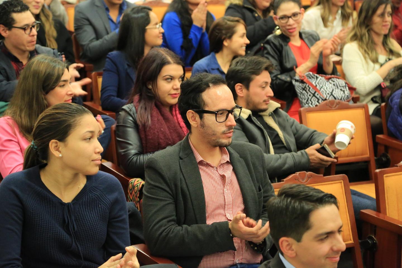 Dentro del conversatorio se llevó a cabo un panel conformado por Jorge Prieto, Ricardo Melo, Aldo Nicolás Díaz y Patricia.