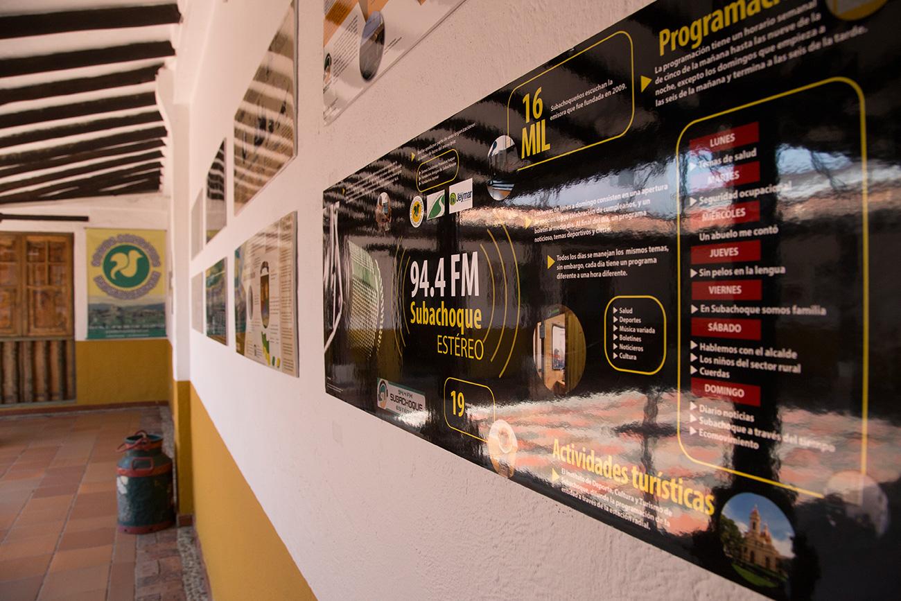 Exposición en Subachoque