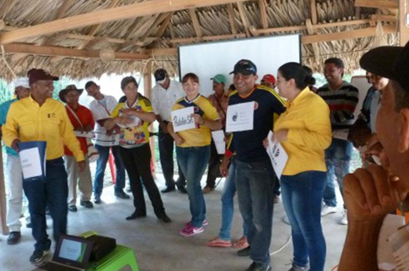 Programas y proyectos. Cortesía: Fundación Crecer en Paz