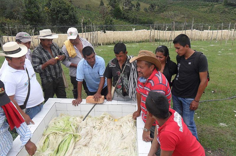 Asprocofitambo - El Tambo. Cortesía: Fundación Smurfit Kappa Colombia
