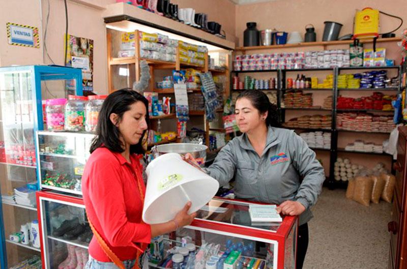 Tienda Asproleso. Cortesía: Fundación Smurfit Kappa Colombia