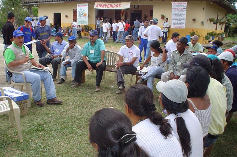 Día de Campo Panelera de Cajibío. Cortesía: Fundación Smurfit Kappa Colombia