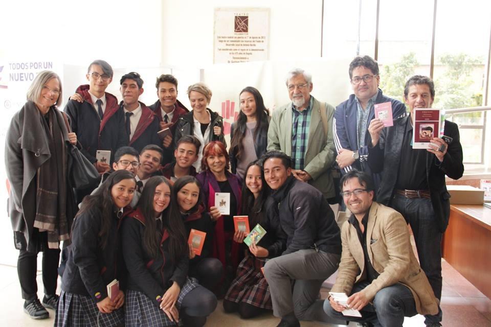poetas y estudiantes