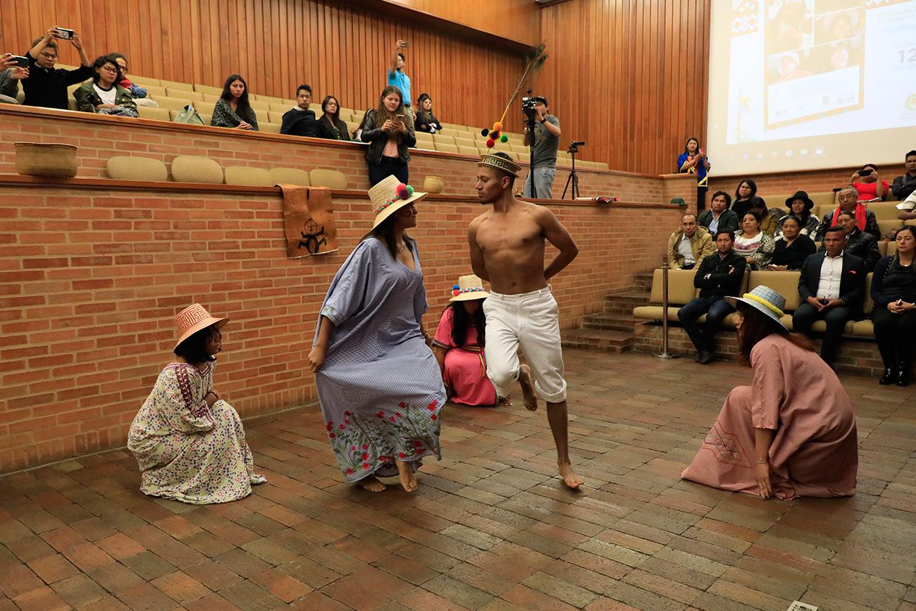 El Externado vivió la Semana de los Pueblos Originarios