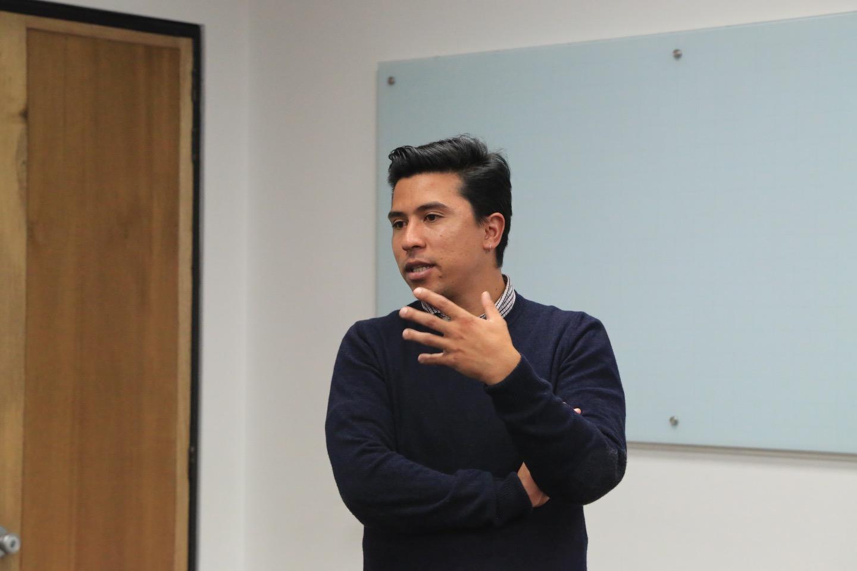 Carlos González, Universidad Externado de Colombia.