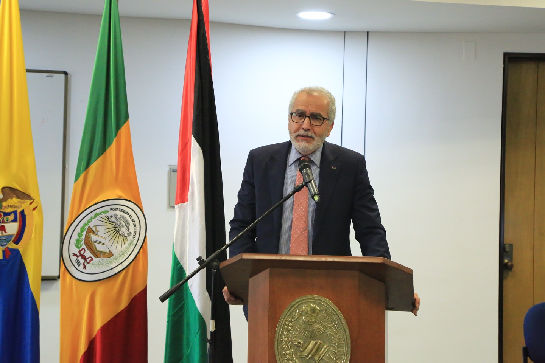 Embajador Raouf Almalki