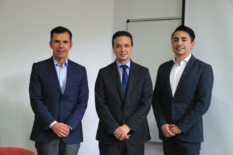 Guillermo Rivera, Julián Arévalo y David Ortiz.