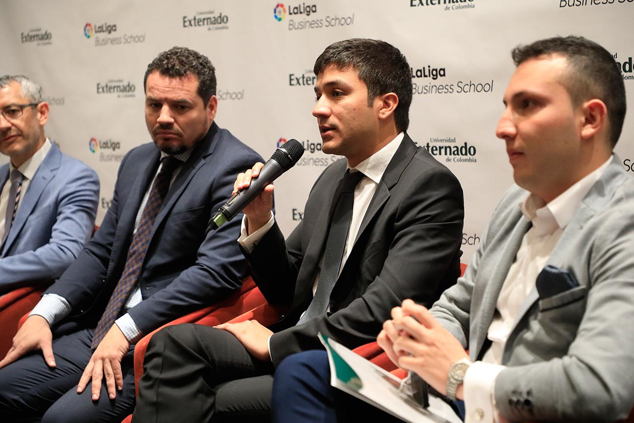 Universidad Externado firmó convenio de colaboración con LaLiga Business School