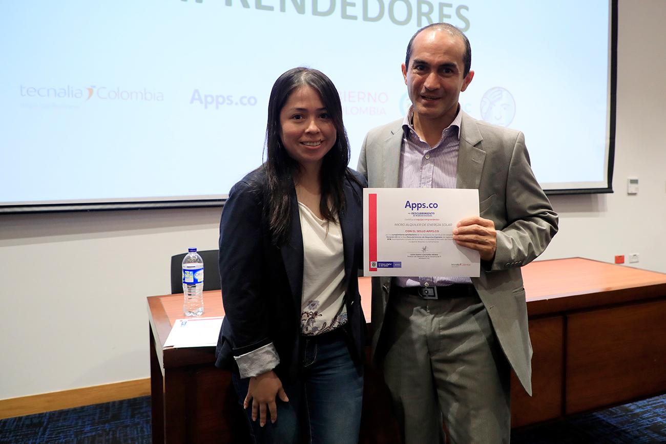 """El Observatorio de Sociedad, Gobierno y Tecnologías de Información del Externado recibió certificado """"Apps. Co"""""""