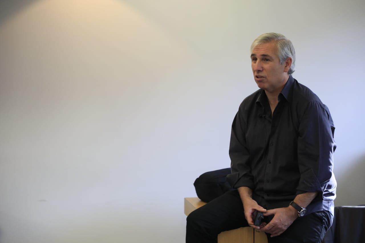 Visita de Ignacio Román, presidente de Avantel