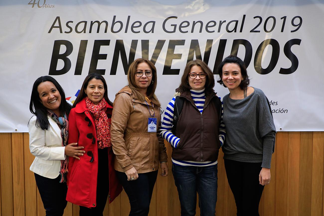 En el Externado se cumplió la asamblea general de AFACOM