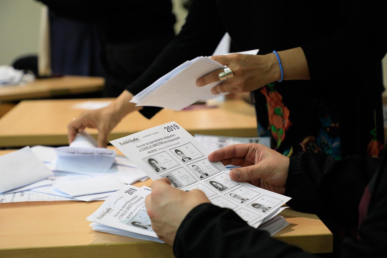 Jornada electoral en el Externado