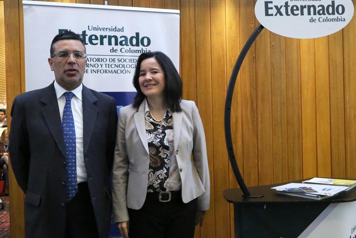 Sylvia Constaín y Marco Peres