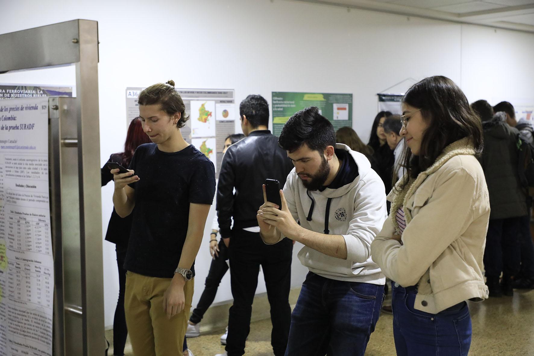 Semana de la Economía 2019- exposición de pósters