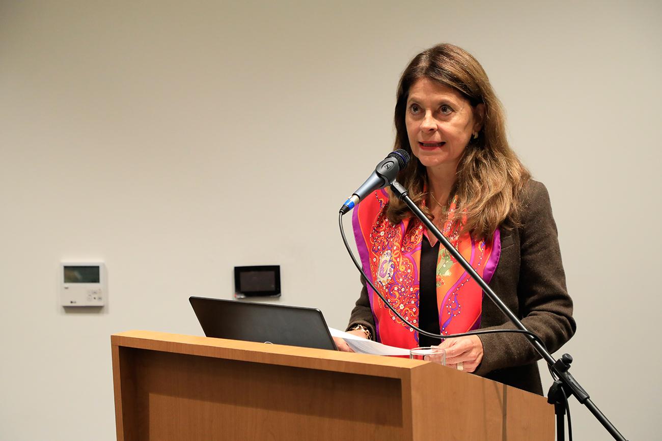 Vicepresidenta, Martha Lucía Ramírez