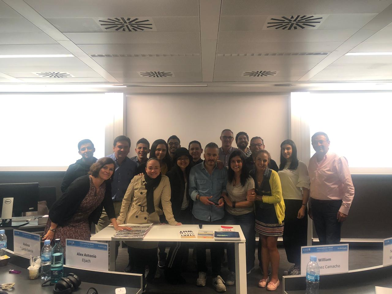 Misión a ESADE, Barcelona