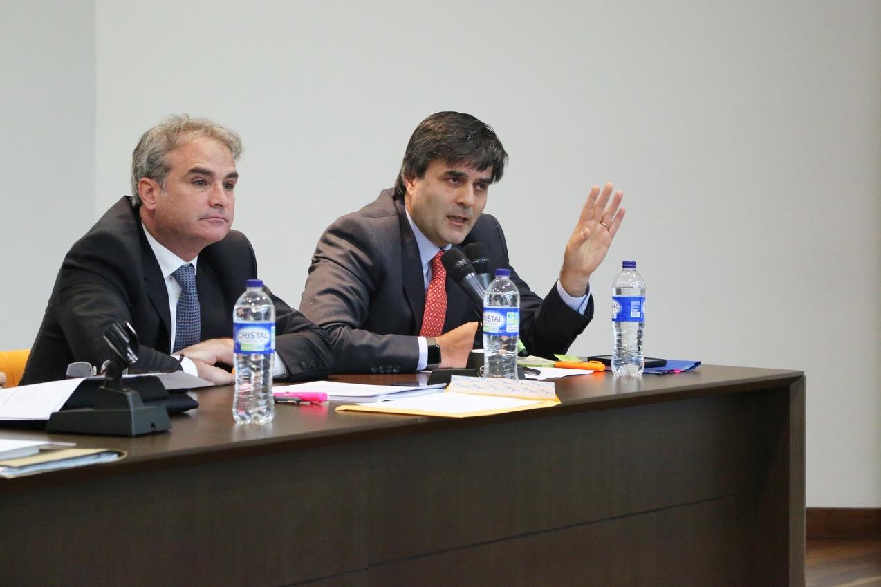 Pablo Felipe Robledo y Gustavo Valbuena