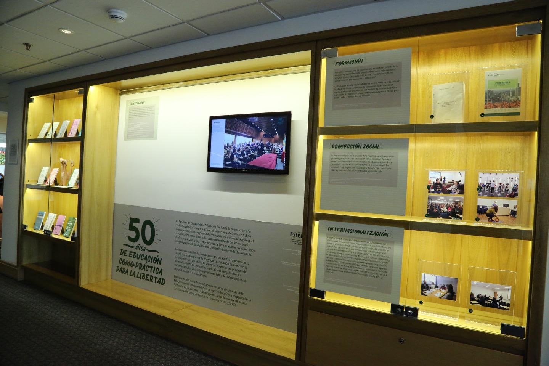 Exposición: 50 años de educación como práctica para la libertad 1