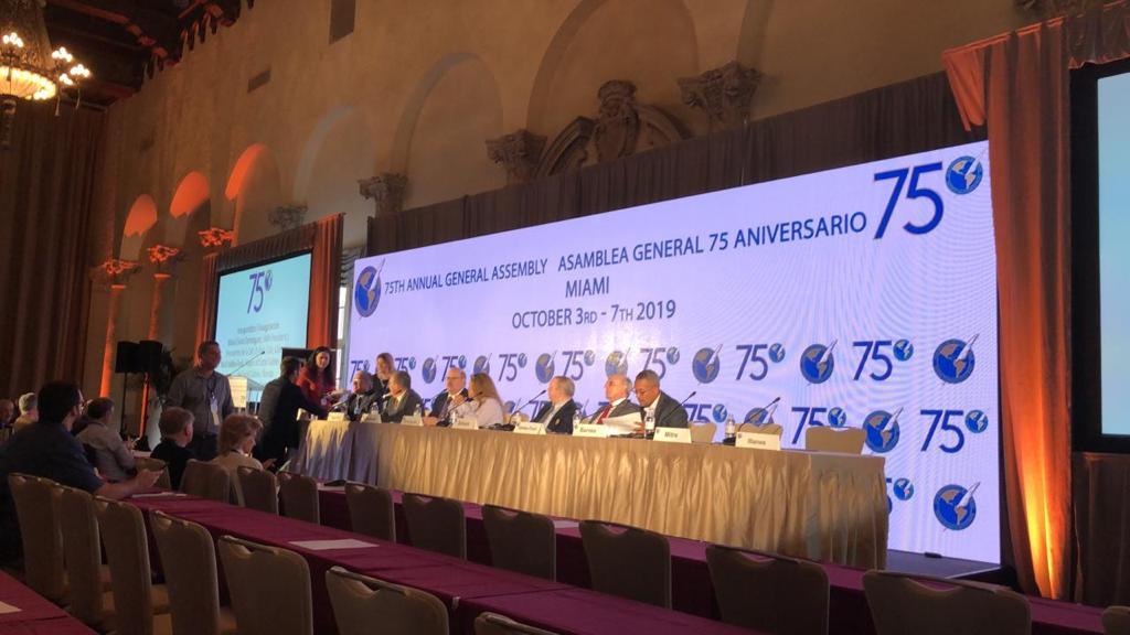75ª Asamblea General de la SIP en Miami