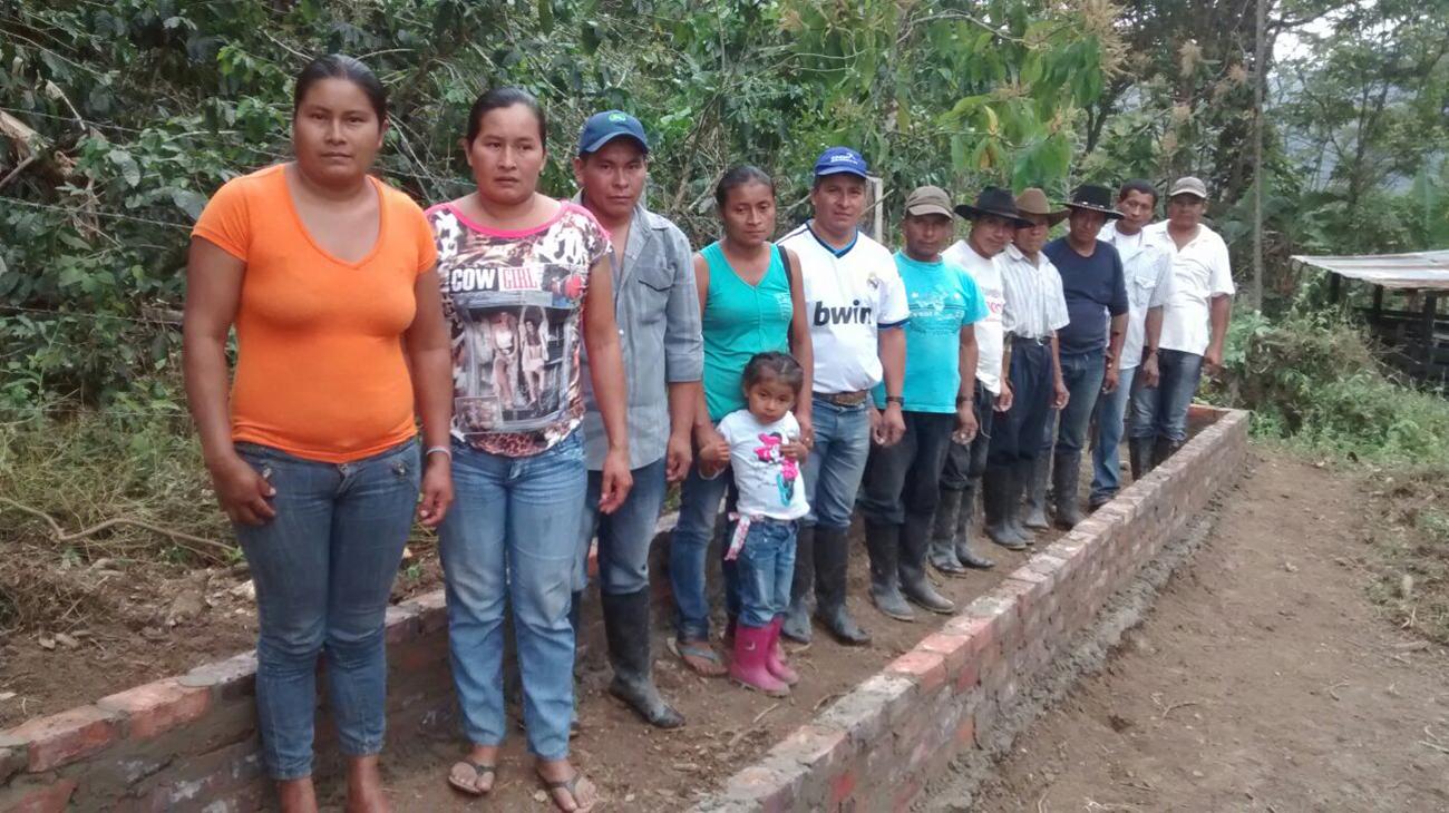 Equión: Fortalecimiento de las condiciones socio productivas de las familias cafeteras y jóvenes. Cortesía Equión