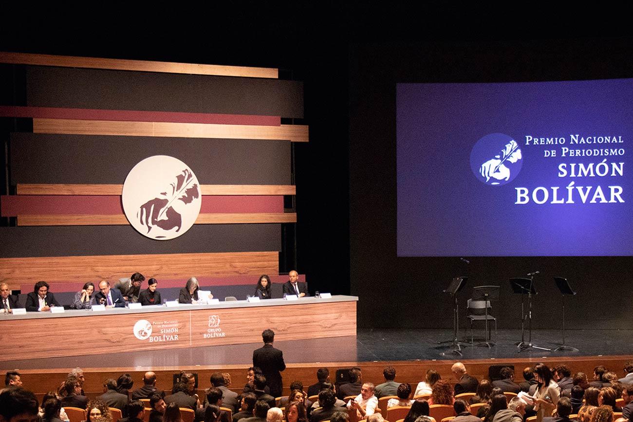 El Premio Nacional de Periodismo Simón Bolívar fue otorgado a cuatro comunicadores externadistas