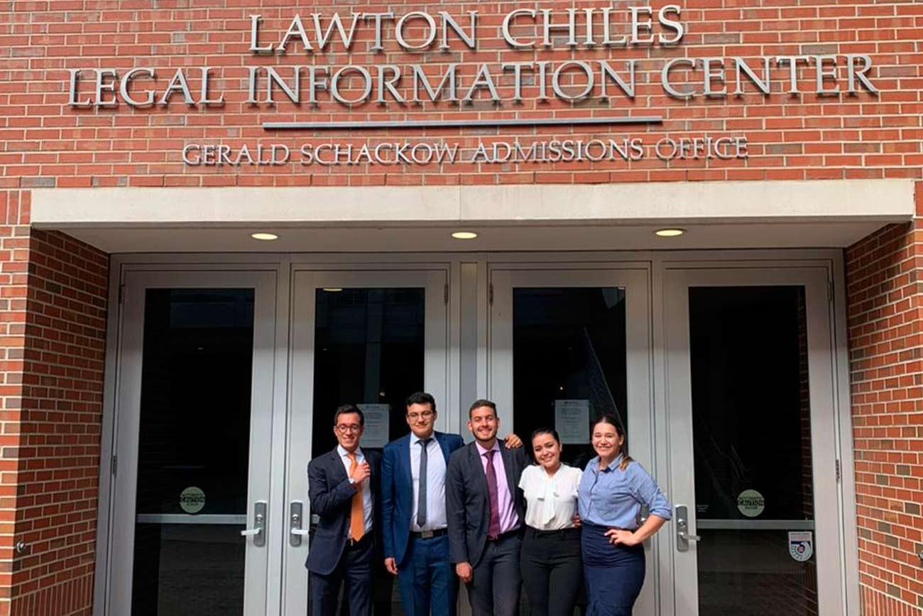 Estudiantes externadistas obtienen el primer puesto en el en el Internacional Tax Moot Court