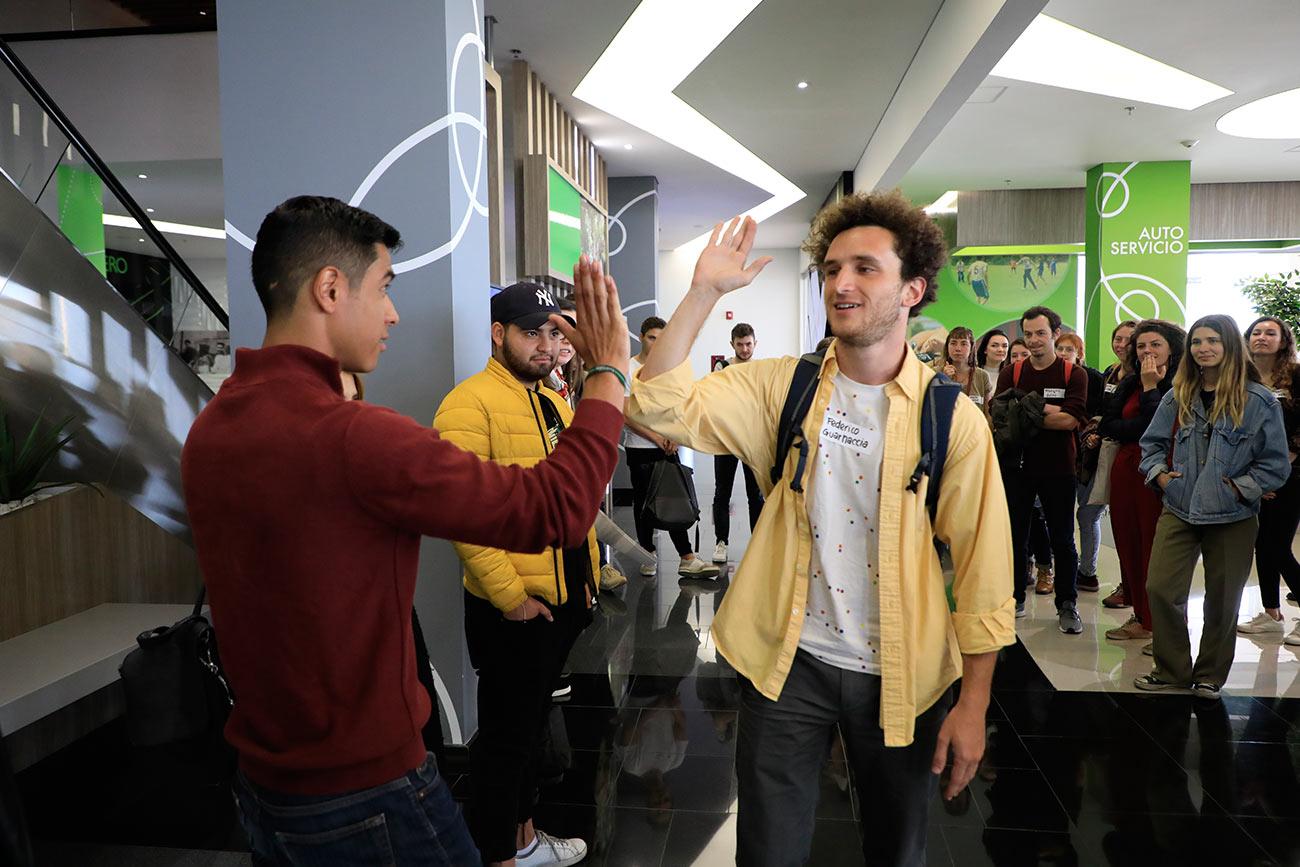El Externado les da la bienvenida a los nuevos estudiantes extranjeros