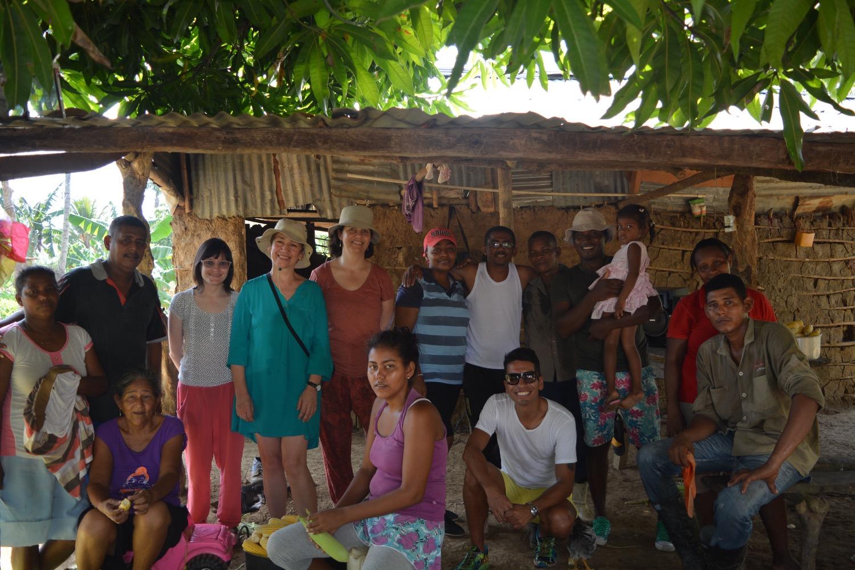Investigación curatorial en Mampuján (2016)