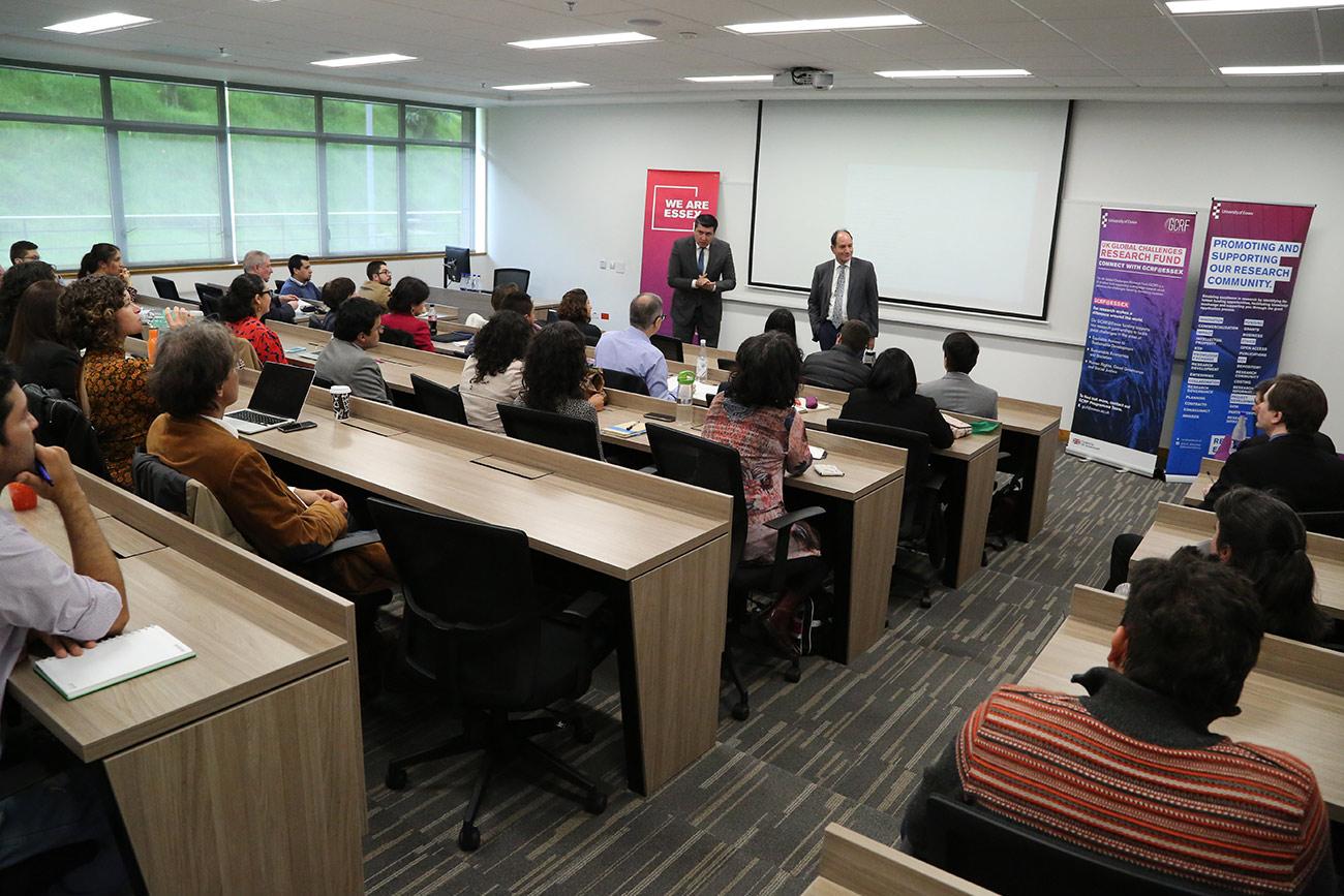 Universidad de Essex del Reino Unido visita nuestra Casa de Estudios