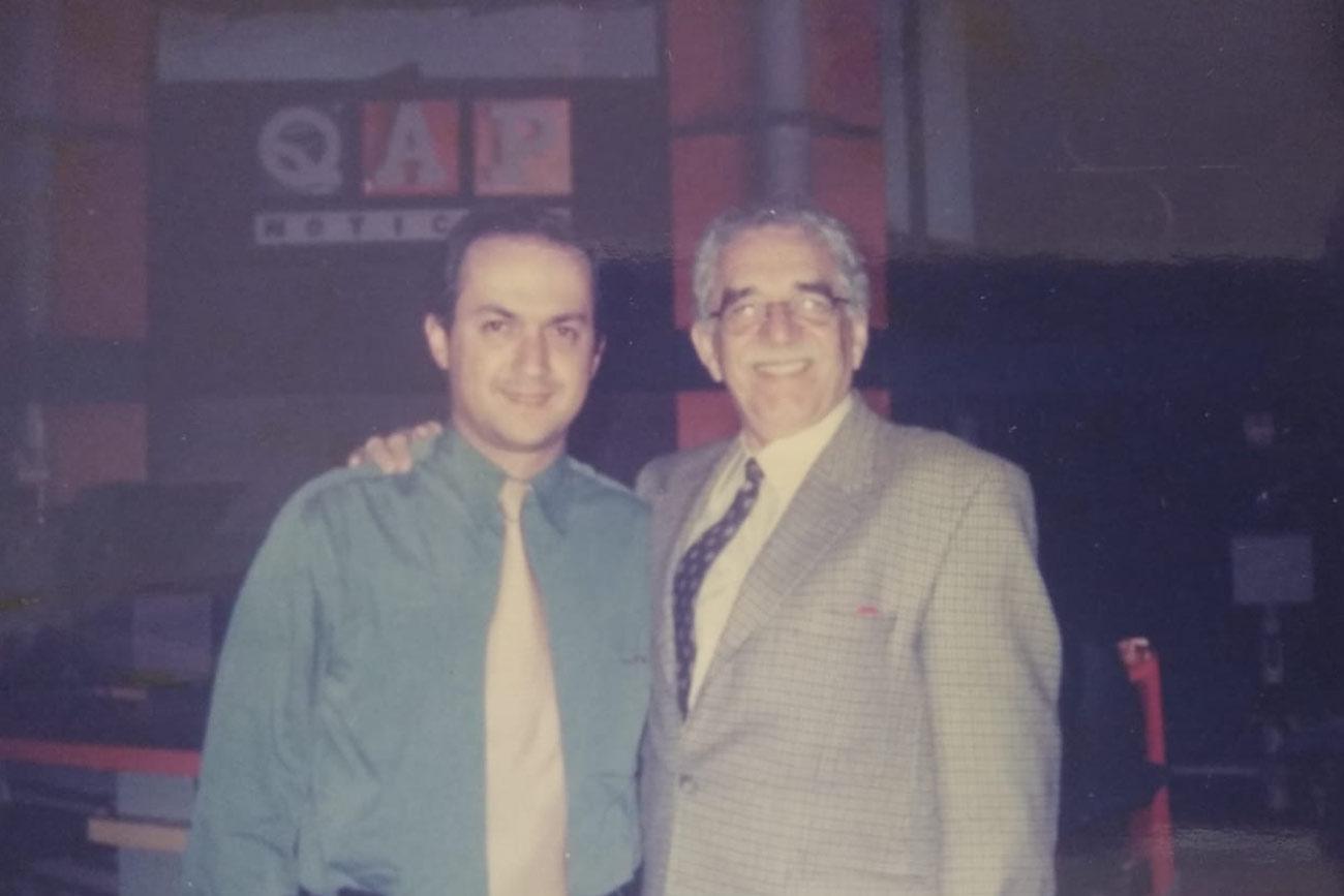 Darío Fernando Patiño y Gabriel García Márquez