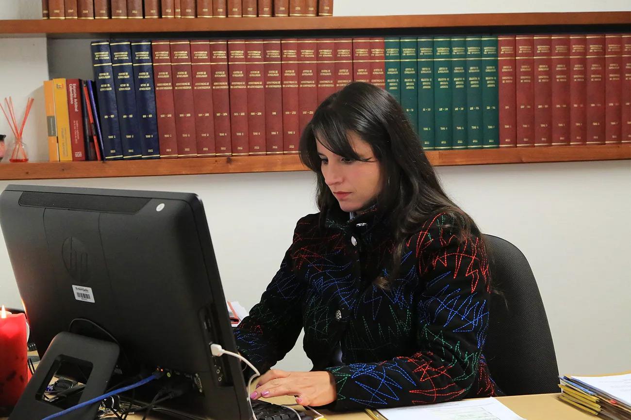 consultora legal del Consultorio Jurídico Externadista